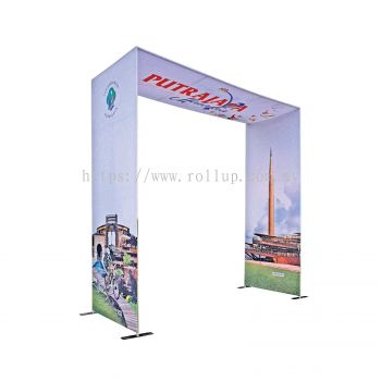 """""""N"""" Shape ARCH 4x4meter Tension Fabric"""