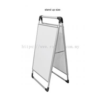 poster A standee board (SAB)