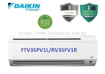 Daikin 1.5HP Non Inverter Air Conditioner R32 Standard P-Series FTV35P & RV35F