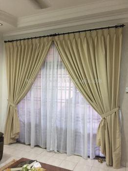 Curtain On Wall