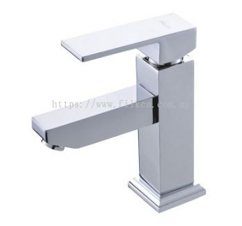 Felice Single Lever Basin Mixer Tap Stainless Steel - FLE3301