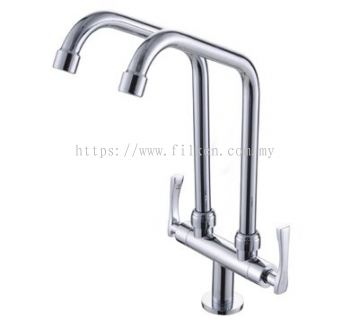 Felice Single Lever Double Pillar Sink Tap �C FLE722