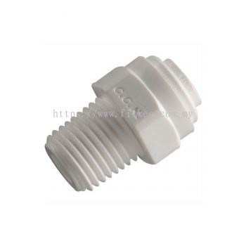 4MC4 Male Connector One Touch Fitting for Water Filter