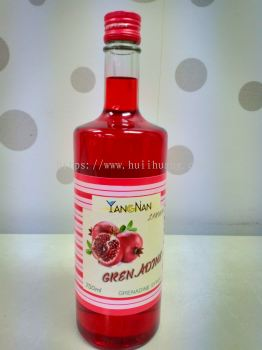 Red Grenadine Syrup