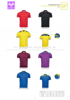 Sublimation Polo SP6