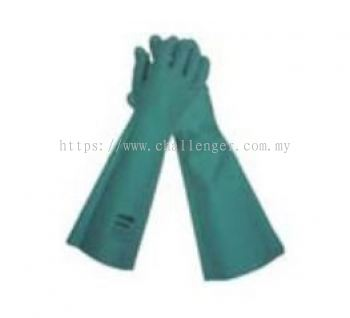 KLEENGUARD™ G80 Nitrile Chemical Resistant Gauntlet Gloves