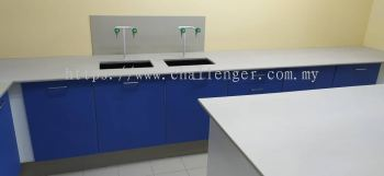 Laboratory Furniture - Blue