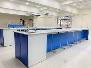 Laboratory Furniture - Metal Blue