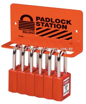 Heavy-Duty Padlock Racks