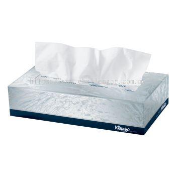 KLEENEX® 2-Ply Facial Tissue - Flat