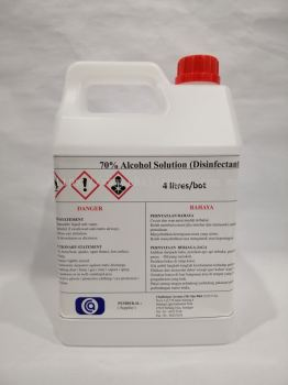 70% Alcohol Disinfectant