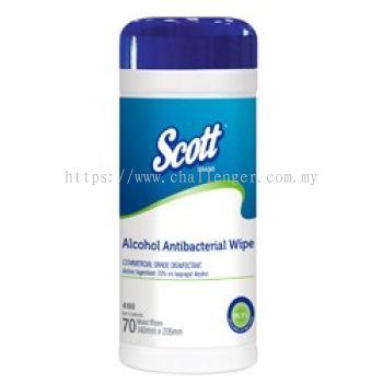 SCOTT® Alcohol Antibacterial Wipers