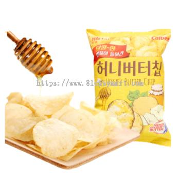 Haitai 蜂蜜黄油薯片 (Haitai Honey Butter Chips)