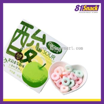 达口了酸~茉莉青苹果味 (Dacoola SOUR Jasmine & Green Apple Flavor)