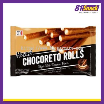 【Chocoreto Wafer Rolls Tiramisu Flavor】提拉米苏 饼干卷