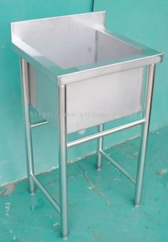 Stainless Steel 1 Bowl Sink �ֵ���ϴ��