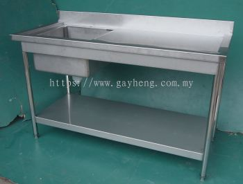 Stainless Steel 1 Bowl Sink ��ϴ��