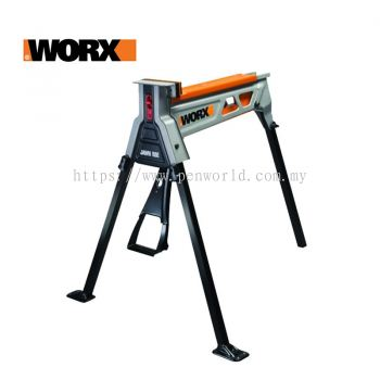 Worx JAWHORSE PORTABLE CLAMPING WORK SUPPORT STATION