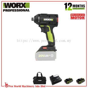 WORX WU294.2 20V BRUSHLESS IMPACT DRIVER