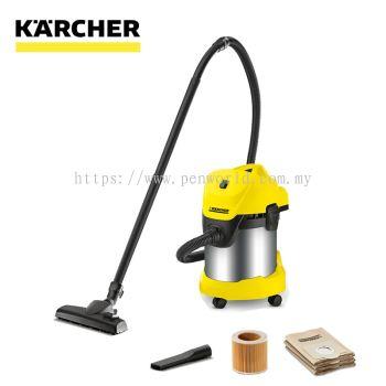 Karcher WD 3 Premium Wet & Dry Vacuum Cleaner