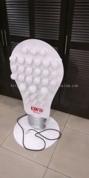 LWD Led Bulbs 3D Sample Board