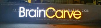 BrainCarve Signage, Led Signboard 3D Box Up LED Lettering Frontlit