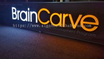 BrainCarve Signage, Led Signboard, 3D Box Up LED Lettering Frontlit