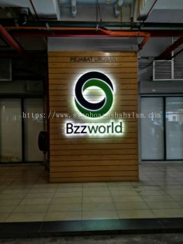 Bzzworld 3D Led Backlit Signage, Kuchai Lama, KL