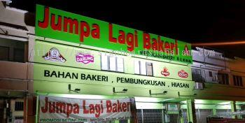 Jumpa Lagi Enterprise Klang - 3D Box Up Lettering Signage With Non Led