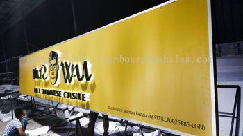 Wutopia Restaurant Kajang - 3D Box Up Led Backlit Signboard