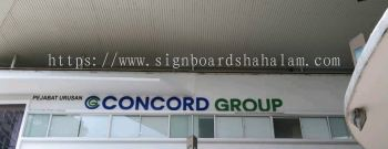 Concord Group KL - 3D Box Up Lettering Signboard With Non LED