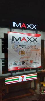 V Best Klang-3D LED Box Up Signboard- Frontlit