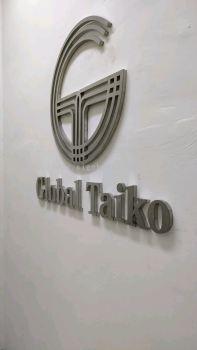 Global Taiko klang 3D Box Up S/S Silver H/L
