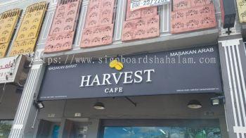 Harvest Cafe Klang - 3D LED Box Up Signboard -Frontlit
