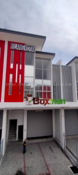 Boxman Sdn Bhd Kapar - 3D Box Up Lettering Signboard with Non LED