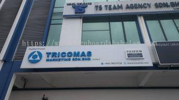Tricomas Jb  - 3D Box Up Led Backlit Signboard