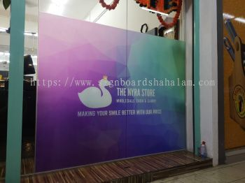 Qowl Signature Trading Klang  - Frosted Sticker Of Glass