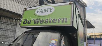 Famy Resources Klang - Truck Lorry Sticker