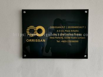 In Pro Sdn Bhd KL - Acrylic Poster Frame