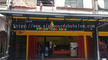 Paoh Food KL - 3D Led Signboard With Led Neon light