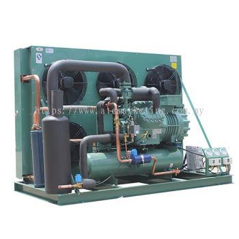 Semi Hermetic Bitzer Two Stage Screw Compressor