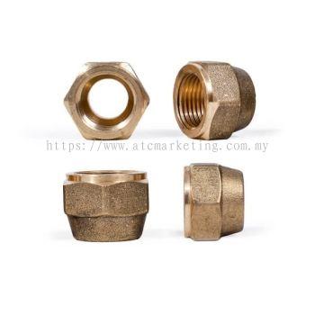 Castel Brass Flare Nuts