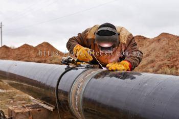 Welding Pipe Line