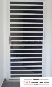 Powder Coated Metal Door Grill / Window Grill