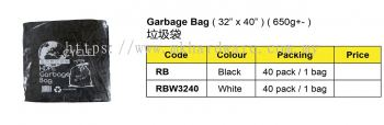 GARBAGE BAG / RUBBISH BAG