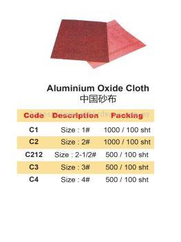 ALUMINIUM OXIDE CLOTH
