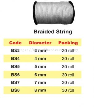 BRAIDED STRING