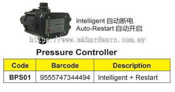 PRESSURE CONTROLLER (AUTO-RESTART)