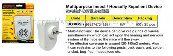 MULTIPURPOSE INSECT REPELLENT DEVICE