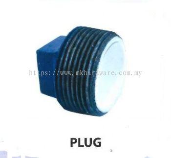 Poly steel plug